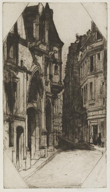 , 'Hôtel de Sens [Paris],' 1904, Childs Gallery