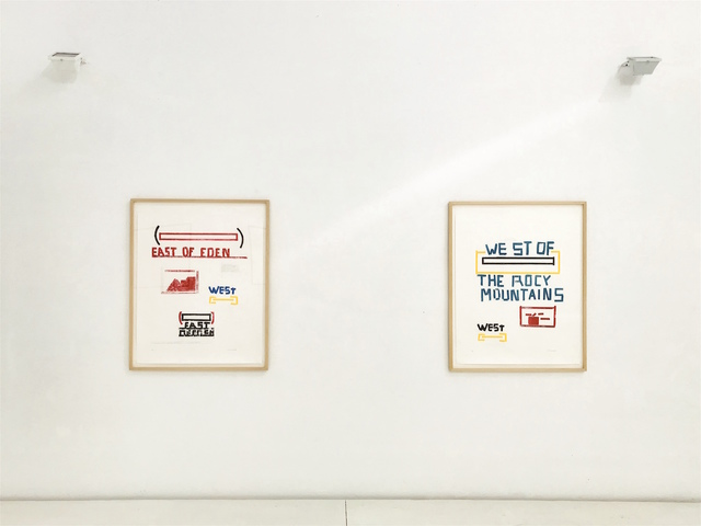 , 'EAST OF EDEN & WEST OF THE ROCY MOUNTAINS,' 1996, Brigitte March International Contemporary Art