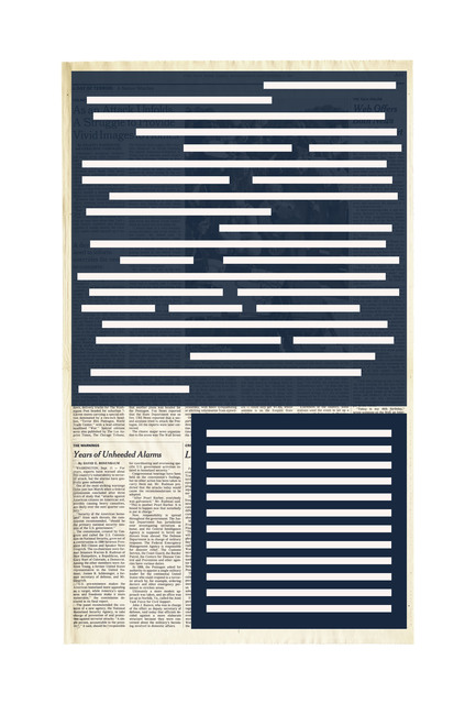 , 'Next Day Page A25,' 2015-2016, The FLAG Art Foundation