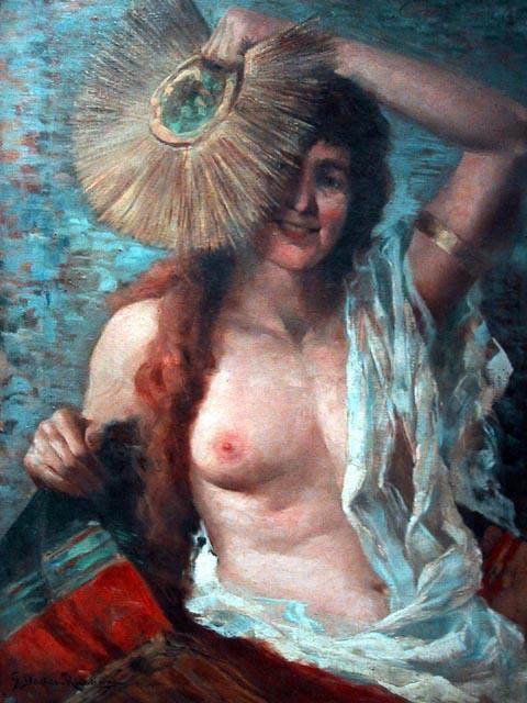 Antonio Dattilo-Rubbo, 'Coquette', c.1920, Angela Tandori Fine Art