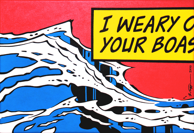 William Waggoner, 'Salt Breaker', 2009, Painting, Acrylic, Dab Art