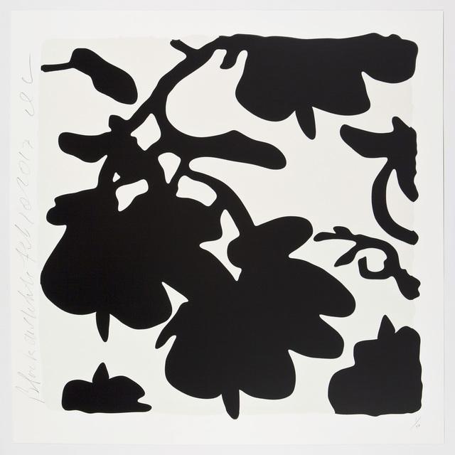 , 'LANTERN FLOWERS, BLACK AND WHITE,' 2017, Corridor Contemporary