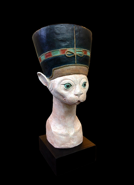 , 'Egyptian Cat,' 2014, Cavalier Galleries