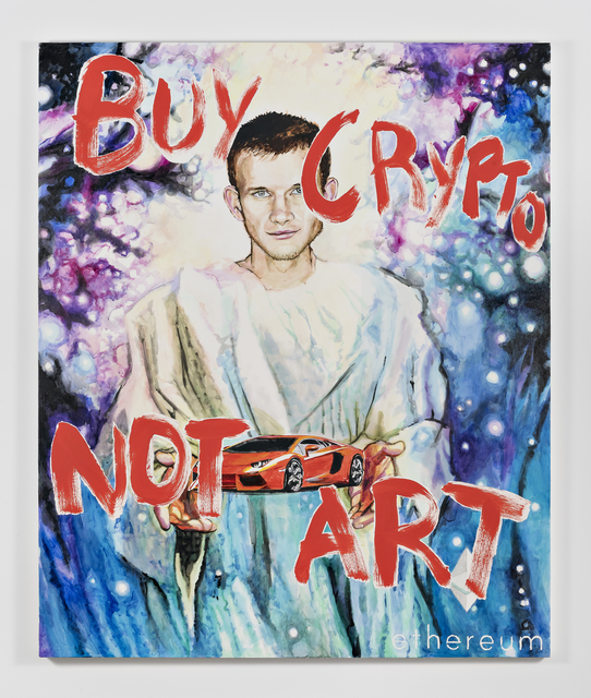 Christine Wang, 'Vitalik Jesus II', 2019, Ever Gold [Projects]