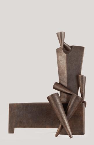 , 'The Seated Man,' 2016, al markhiya gallery