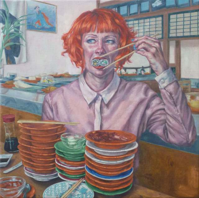 Roxana Halls, 'Sushi', 2014, Reuben Colley Fine Art