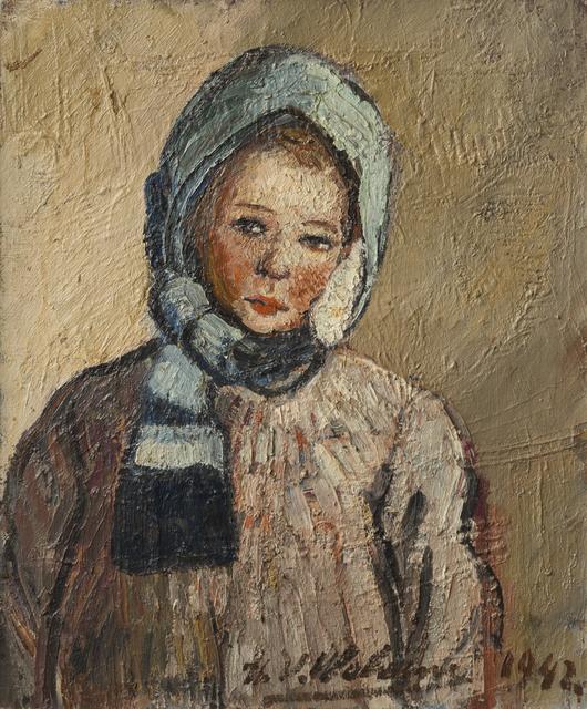 , 'Marie-Anne à l'écharpe bleu,' 1942, Musée d'Ixelles