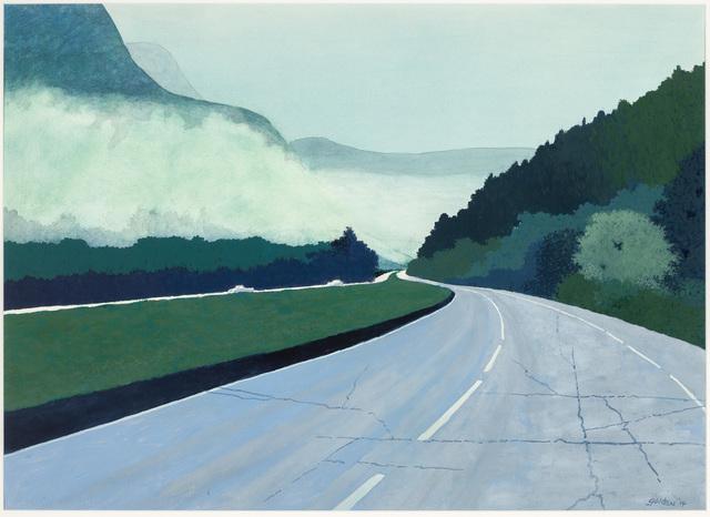 , 'Virginia Fog,' 2014, Mac-Gryder Gallery