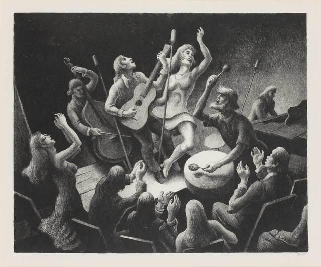 Thomas Hart Benton, 'YOUTH MUSIC (F. 92)', 1974, Doyle