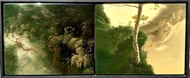 Sam Leach, 'Untitled (Diptych)', 2006, Angela Tandori Fine Art