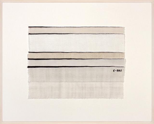 , 'Inventory Drawing E-582,' 2017, Rhona Hoffman Gallery