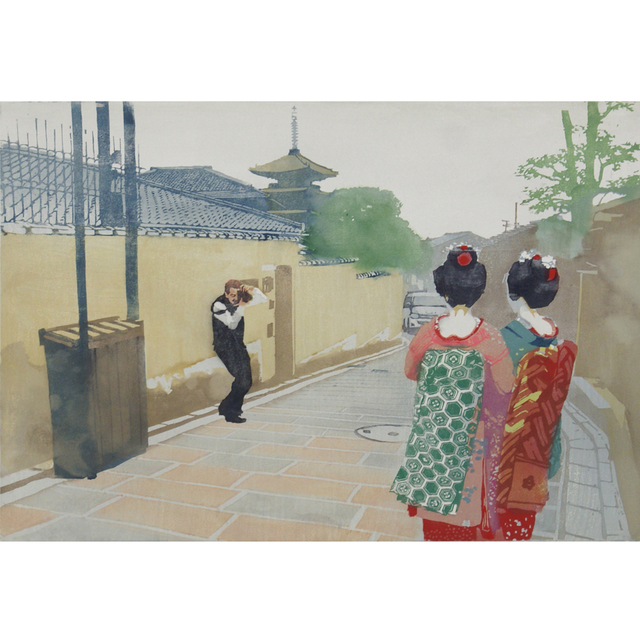 , 'November/Stage is Kiyomizu,' 2011, Gallery Jin