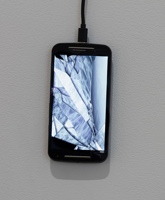 , 'Return of the Broken Screens (Motorola Moto G),' 2016, Steve Turner