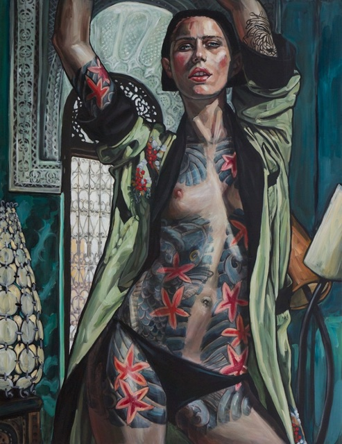 , 'Tattoo Girl VI,' 2013, Gallery at Zhou B Art Center