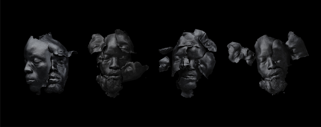 , 'Fossils (Black),' 2016, Tyburn Gallery