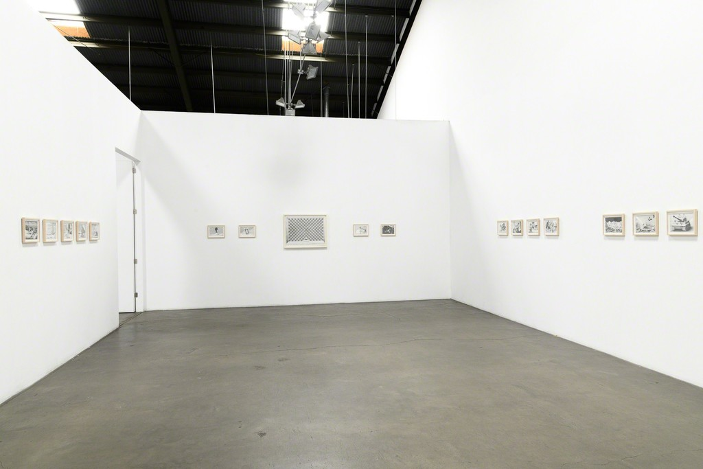"""Installation View: Ryan Travis Christian - """"I'm Picking Up Where The California Raisins Left Off"""" at Richard Heller Gallery, May 5 - June 9, 2018."""