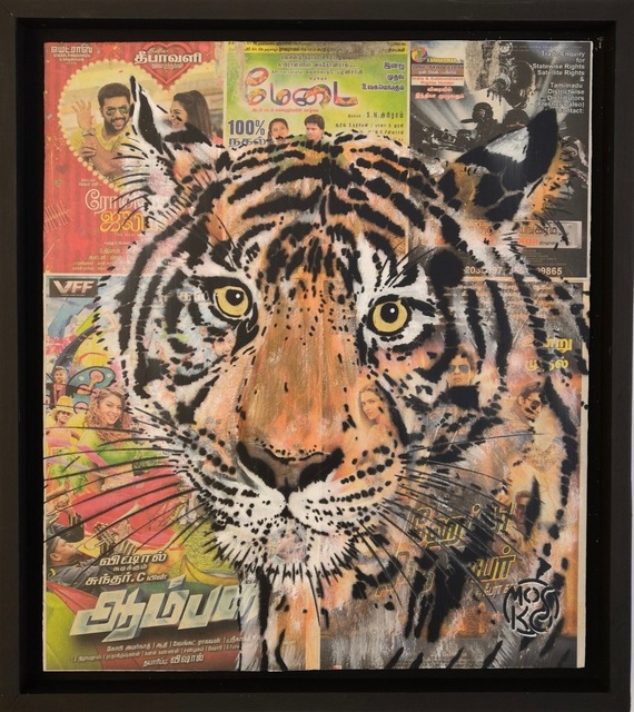 , 'Indian tiger,' 2019, Galry