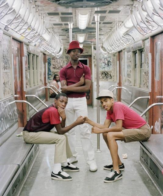 Jamel Shabazz, 'Trio, Brooklyn, NY ', 1980, Photography, Chromogenic print, Galerie Bene Taschen
