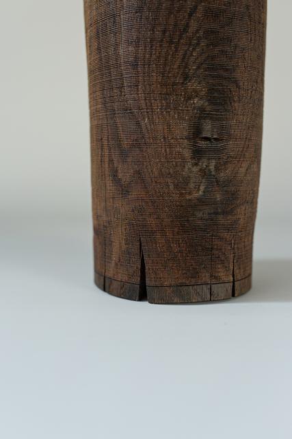 Ernst Gamperl, '48/2020//150', 2020, Sculpture, Turned oak wood sculpture, Spazio Nobile