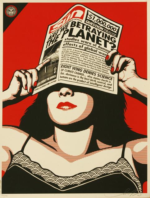 Shepard Fairey, 'Global Warming', 2009, Sworders