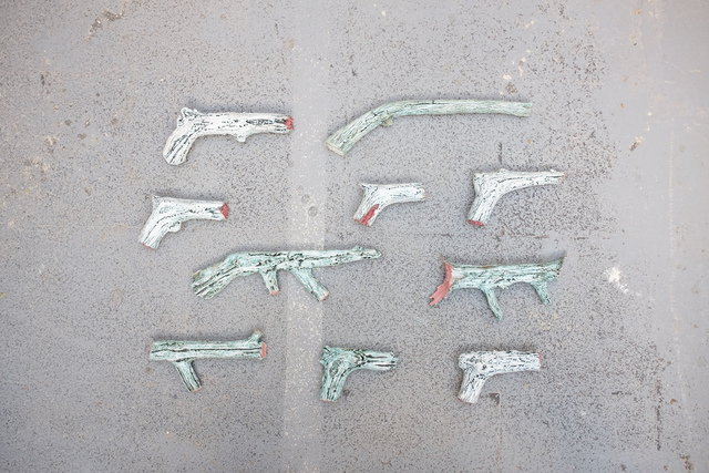 , 'Pistolets,' 2017, Antonine Catzéflis