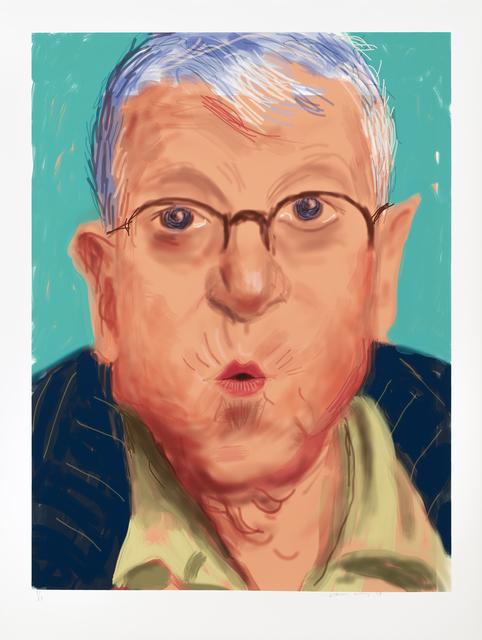 , 'Self Portrait IV, 25 March 2012,' 2012, Galerie Lelong & Co.