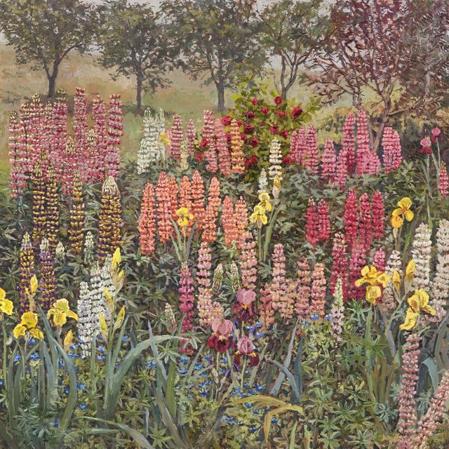 Lucy Culliton, 'Bibbenluke lupins', 2018, Jan Murphy Gallery