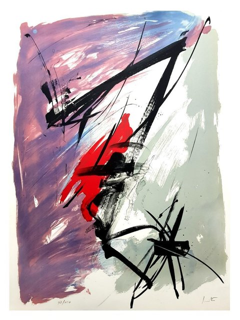 "Jean Miotte, 'Original Lithograph ""Abstract Composition"" by Jean Miotte', Galerie Philia"