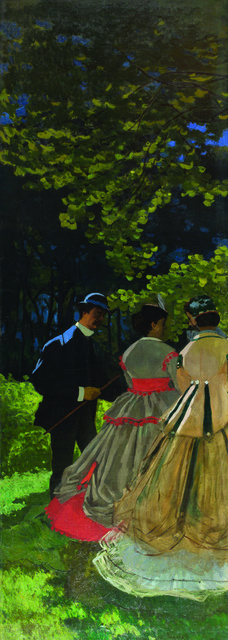 , 'Luncheon on the Grass, Left Panel,' 1865-1866, Legion of Honor