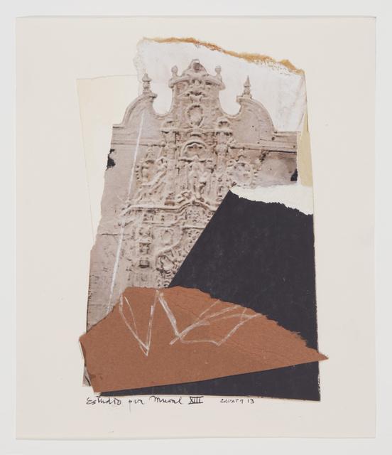 , 'Estudio para Mural XIII,' 2013, Valley House Gallery & Sculpture Garden