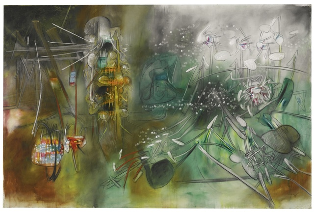 Roberto Matta, 'Let Any Flowers Bloom', 1955, Painting, Oil on canvas, Sotheby's