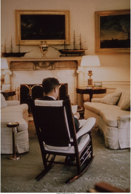 Cornell Capa, 'President Kennedy in the Oval Office', 1961, Heritage Auctions