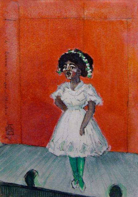 , 'A Cuban Singer-Hoboken,' ca. 1920s, Hollis Taggart Galleries