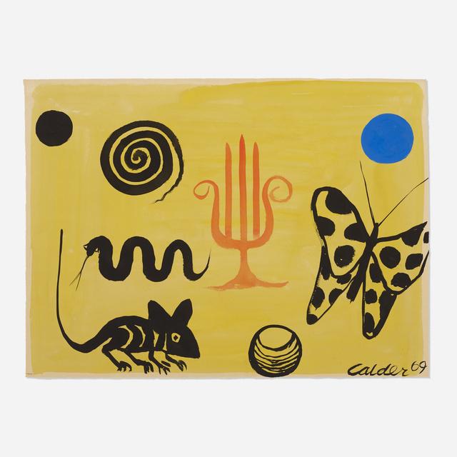 Alexander Calder, 'The Hand of Fatima', 1969, Wright