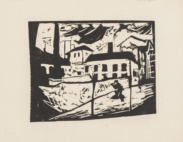 , 'Factory,' 1910, Galerie St. Etienne