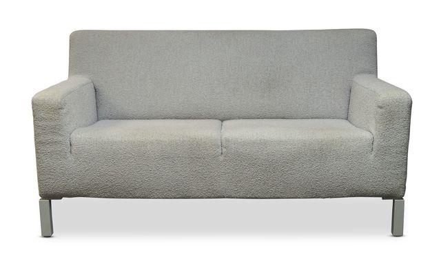 Strange David Chipperfield A White Upholstered Two Seater Sofa Evergreenethics Interior Chair Design Evergreenethicsorg