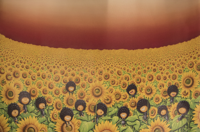 , 'Let the Sunflower Bring Hope,' , Art WeMe Contemporary Gallery