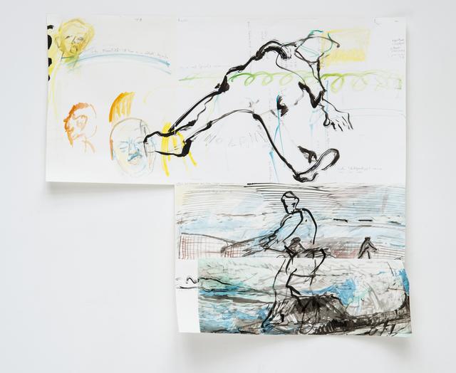 , 'Mappa Mundi, Präsenz zeigen,' 2013-2015, Beck & Eggeling