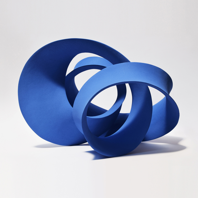 , 'Blue Entwined Form,' 2016, J. Lohmann Gallery