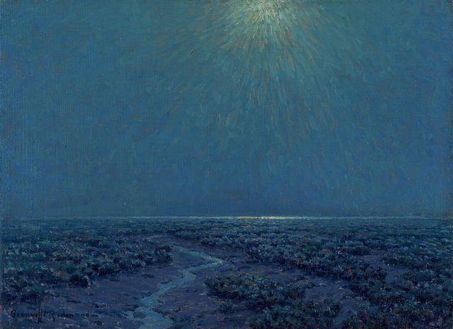 , 'Moonlight on the Marsh,' , Questroyal Fine Art