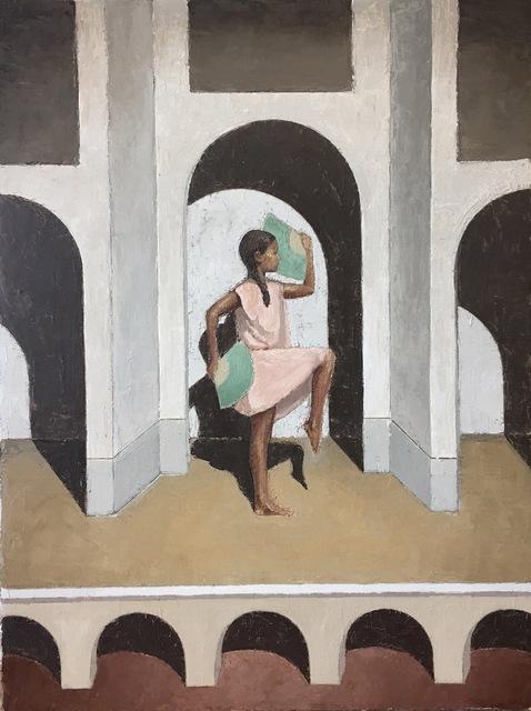 , 'Dancer on Stage II,' 2017, Michel Rein Paris/Brussels