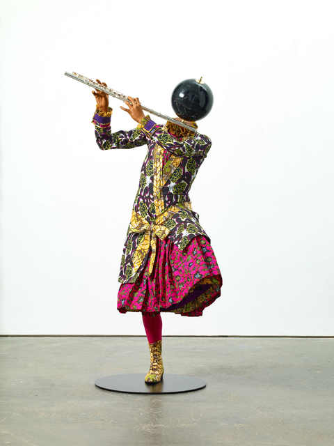 , 'Planets in My Head, Music II (Flute Girl),' 2018, Goodman Gallery