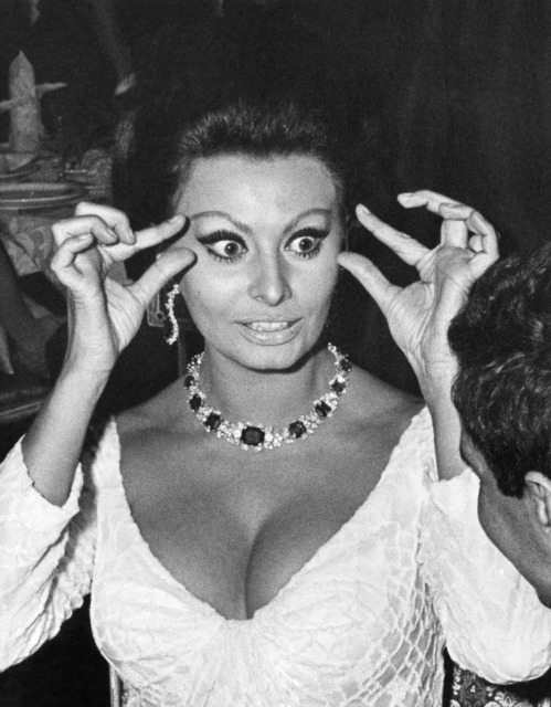 """, 'Sophia Loren at the premiere of """"Dr. Zhivago,"""" New York,' 1965, Staley-Wise Gallery"""