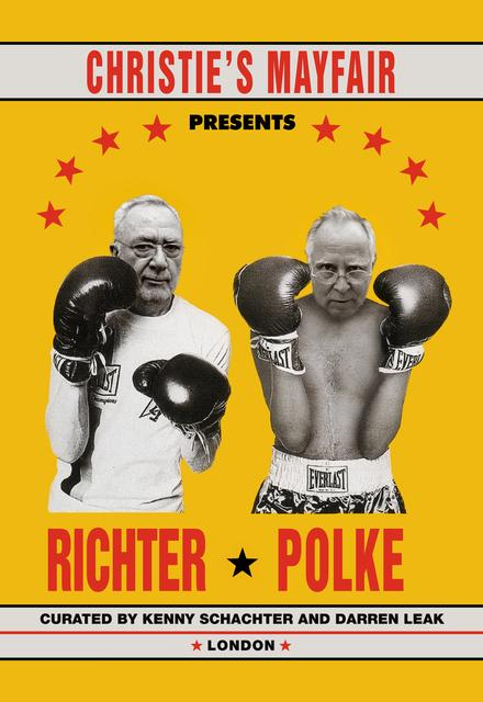 , 'Richter vs. Polke,' 2019, Kantor Gallery