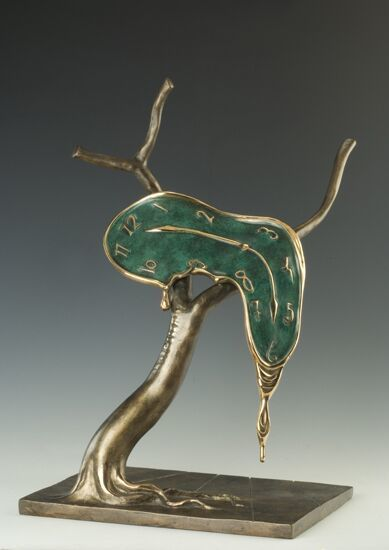 Salvador Dalí, 'Profil of Time', Galerie AM PARK