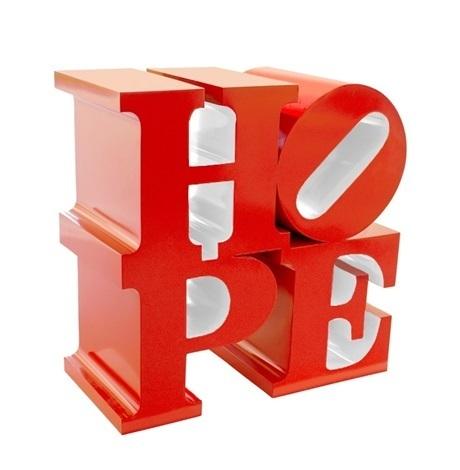 , 'HOPE (Red/White),' 2009, Rosenfeld Gallery
