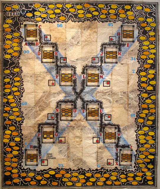 , 'Robot Puzzle X,' 2015, Ricco/Maresca Gallery