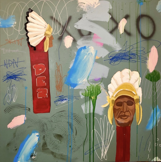Frank Buffalo Hyde, 'EPOCHS - CHIEF/PEZERZATION', 2019, Gallery Fritz
