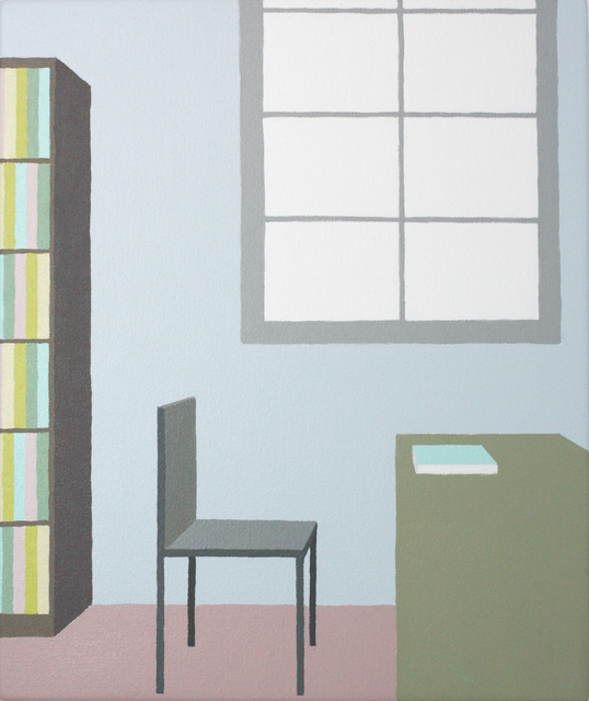 , 'Library #18,' 2018, Inda Gallery