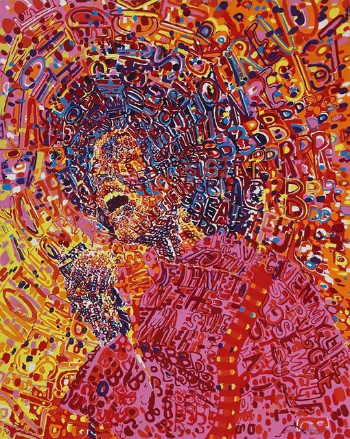 Wadsworth Jarrell, 'Revolutionary', 1972, Aaron Galleries
